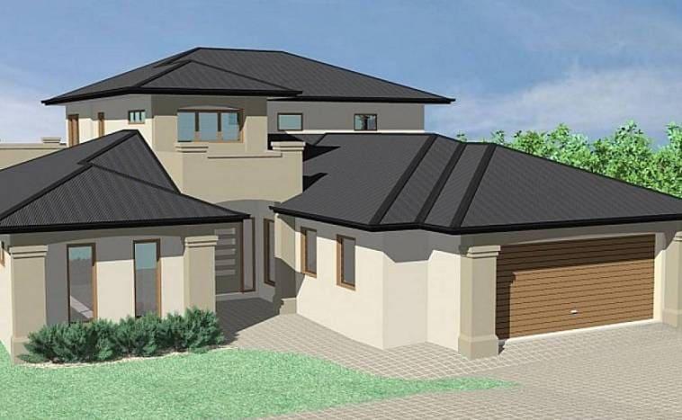 Сложные проекты крыши с неправильной диагональю