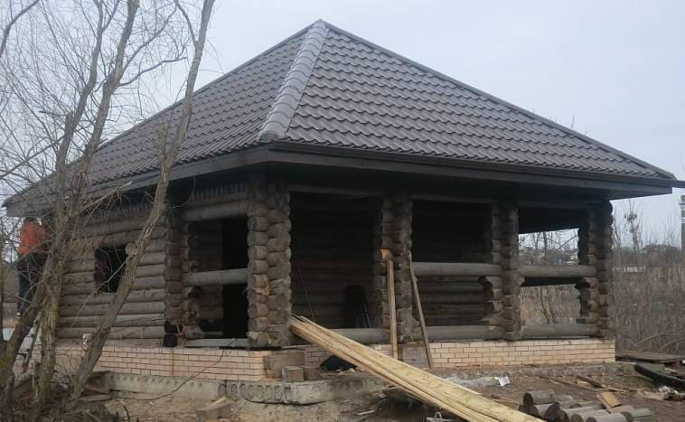 Шатровая вальмовая крыша