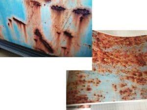 Краска с эффектом ржавчины – особенности применения