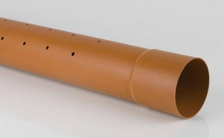 Жесткая дренажная труба