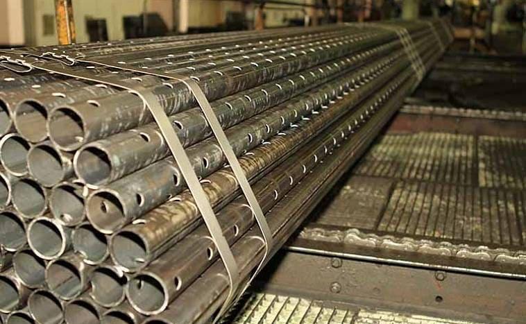 Металлические дренажные трубы
