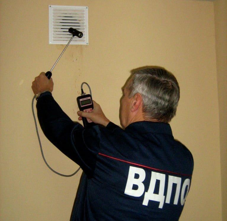 Главные параметры вентиляционной системы