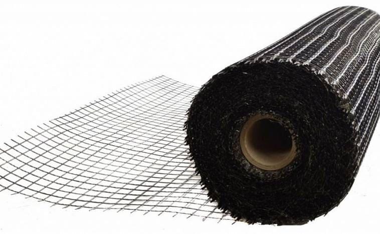 Сетка, изготовленная из черной проволоки