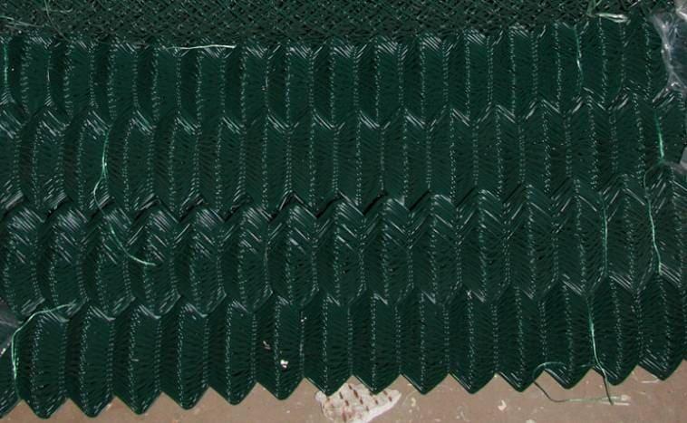 Сетка из проволоки с полимерным покрытием