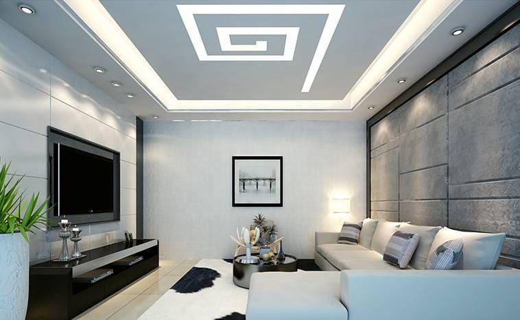 Какое выбрать освещение для натяжных потолков