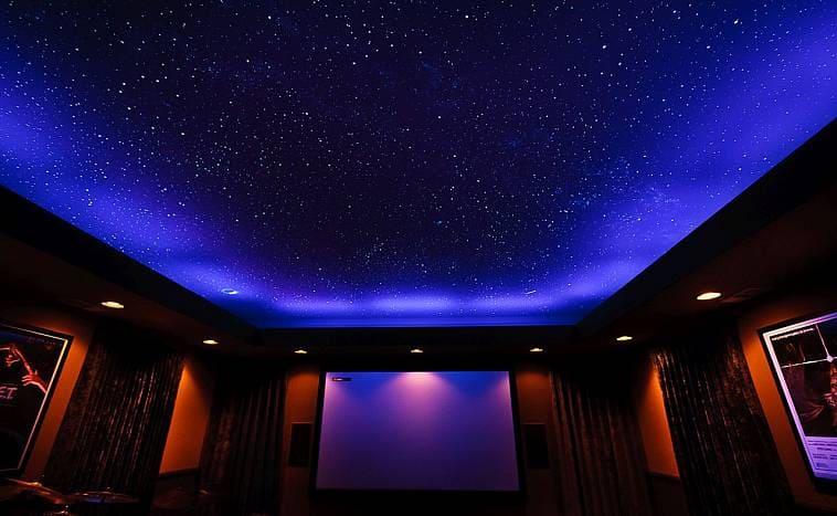 Мерцание звезд на потолке