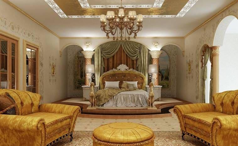 Интерьер коттеджа в стиле барокко