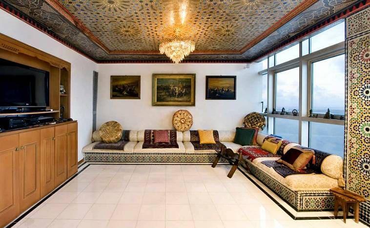 Арабский стиль интерьера