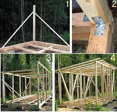 Как построить каркасную бытовку 6х3 своими руками: Чертежи и материалы