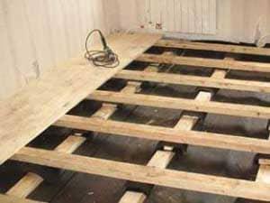 Как уложить пол каркасного дома черновой, утепленный своими руками: Обзор