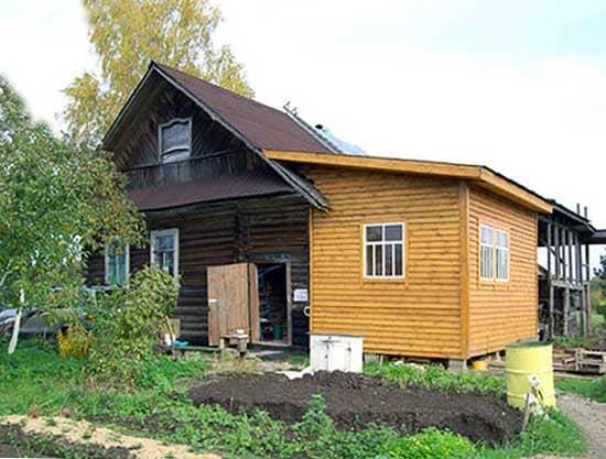 Как сделать каркасную пристройку к деревянному дому своими руками: Обзор