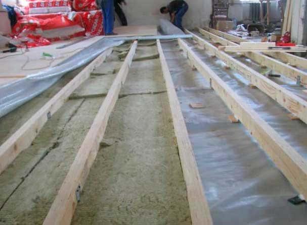 Как сделать ремонт полов в доме с деревянными перекрытиями своими