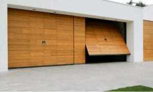 Как сделать деревянные ворота для гаража своими руками? Обзор- Чертежи