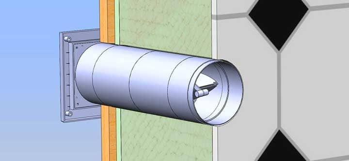 Как сделать вентиляцию в каркасном доме своими руками + схемы