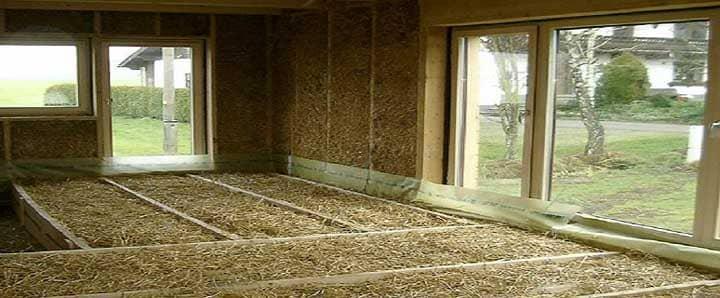 Как сделать утепление дома соломой с глиной снаружи своими руками