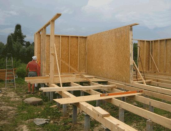 Какая конструкция каркасных стен дома правильная- секреты и минусы: утеплитель