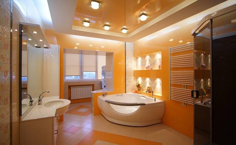 В оранжевой ванной