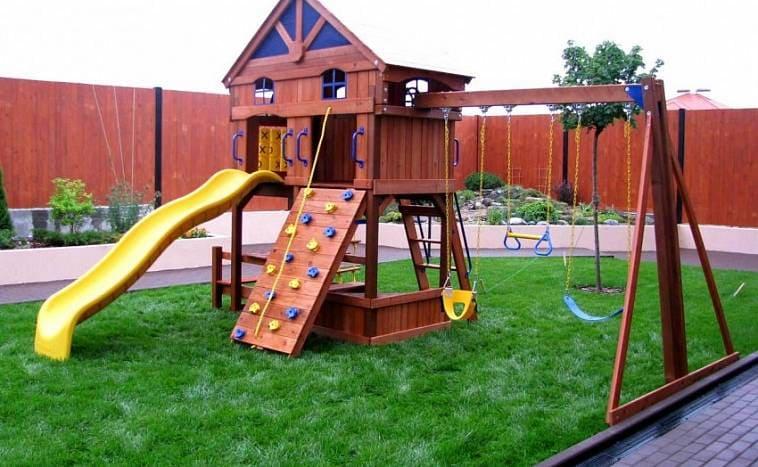 Детская игровая, спортивная площадка