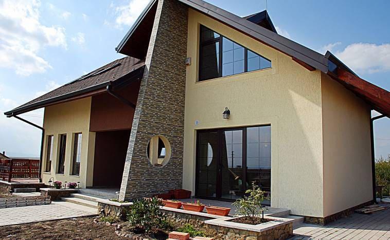 Проект каркасного дома в современном стиле