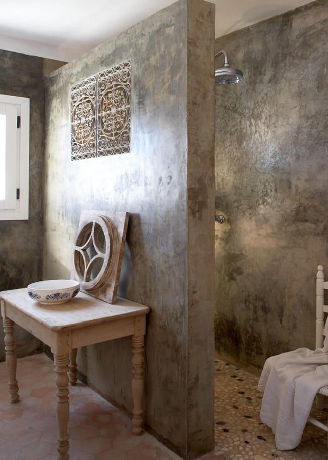 Венецианская штукатурка: особенности применения в дизайне интерьера