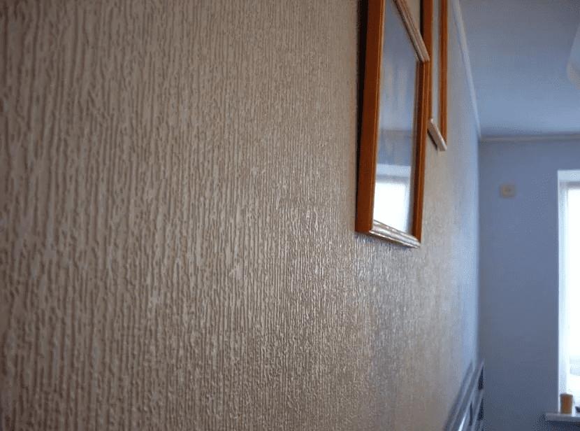 Как красиво сделать стены в прихожей 016