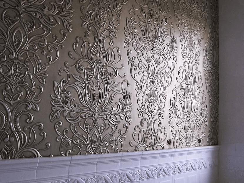 Как красиво сделать стены в прихожей 021
