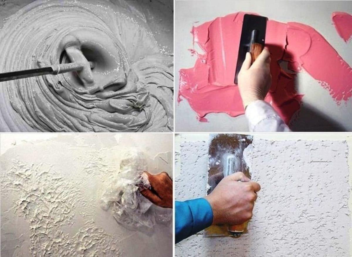 Как сделать декоративную штукатурку из обычной шпаклевки своими руками?
