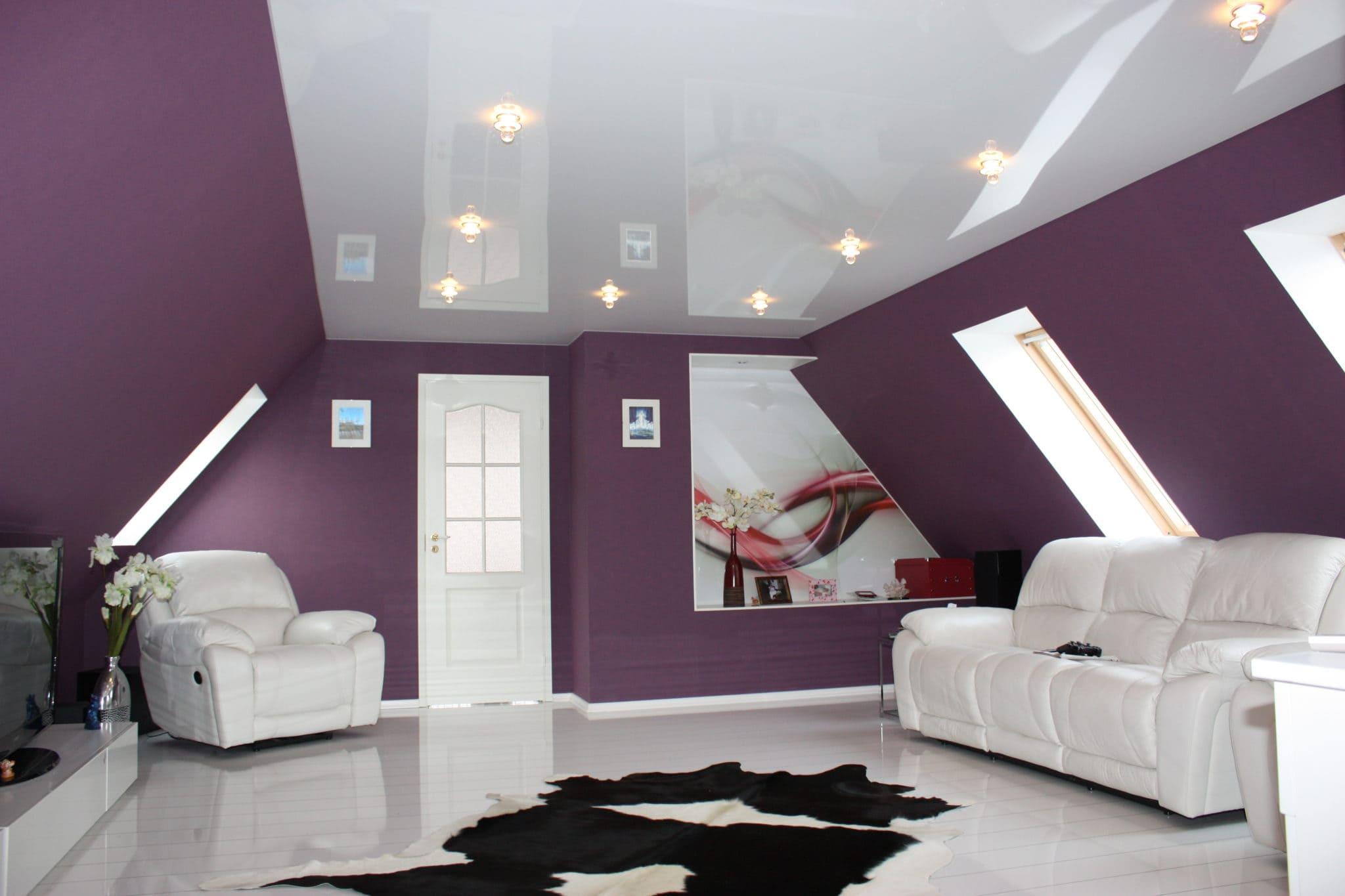 Натяжные потолки - разновидности, фото, цены, особенности 02