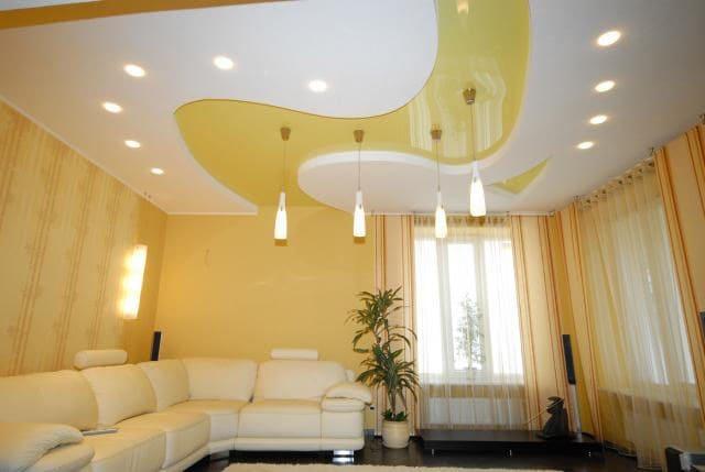 Натяжные потолки - разновидности, фото, цены, особенности 11