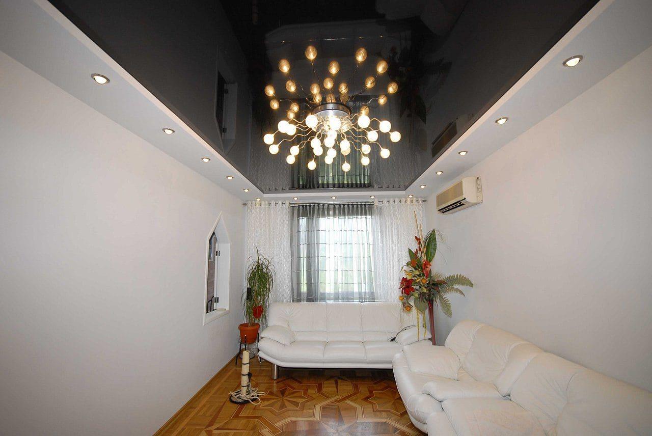 Натяжные потолки - разновидности, фото, цены, особенности 65