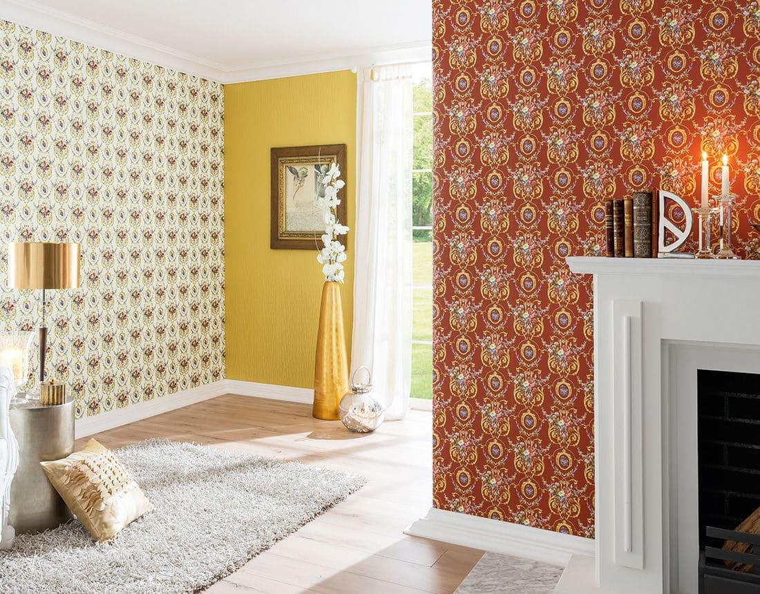 Варианты интерьера в прихожей - камень, ламинат, плитка, фреска 019