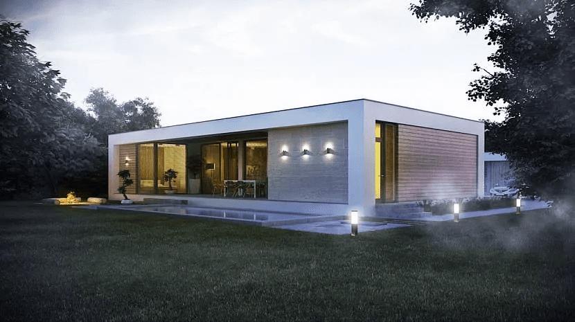 Дом хай-тек - технические и стилистические особенности 004