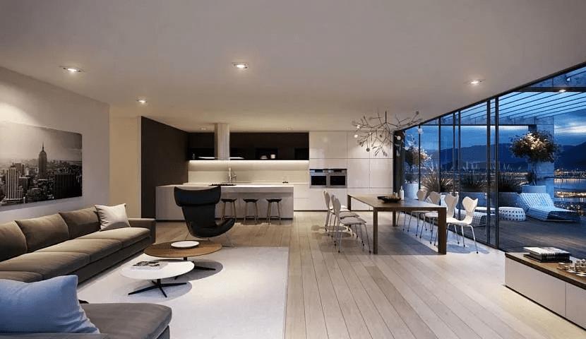 Дом хай-тек - технические и стилистические особенности 019