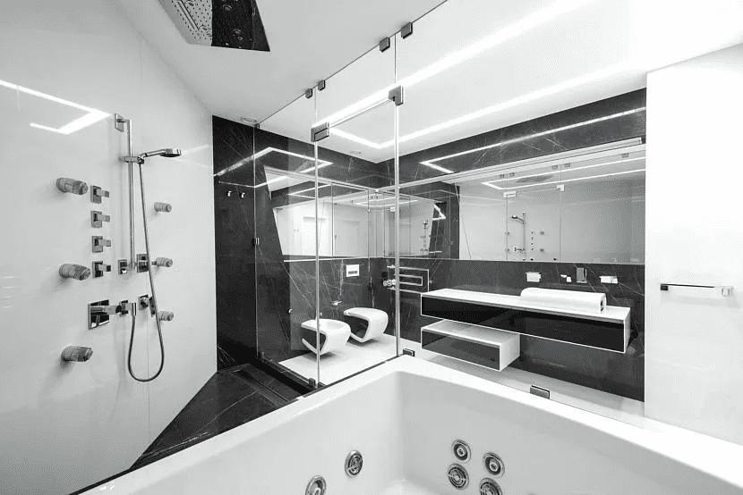 Дом хай-тек - технические и стилистические особенности 022