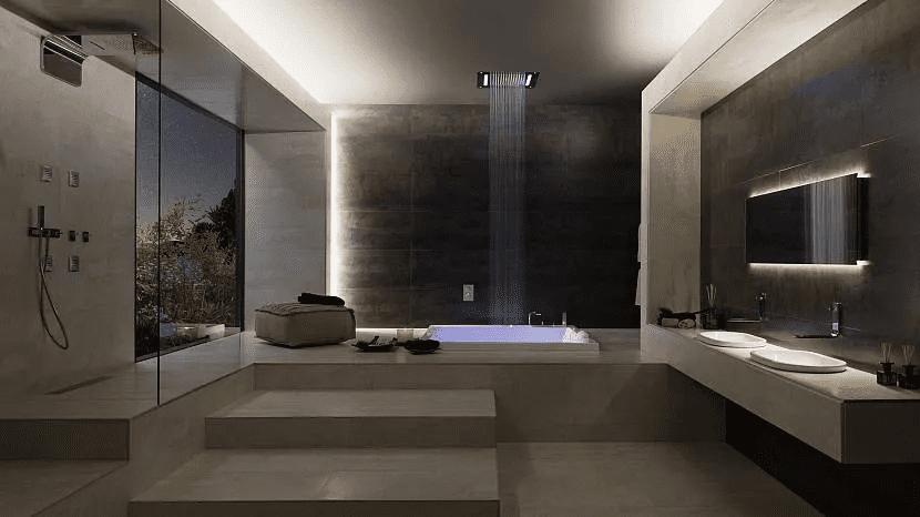 Дом хай-тек - технические и стилистические особенности 023