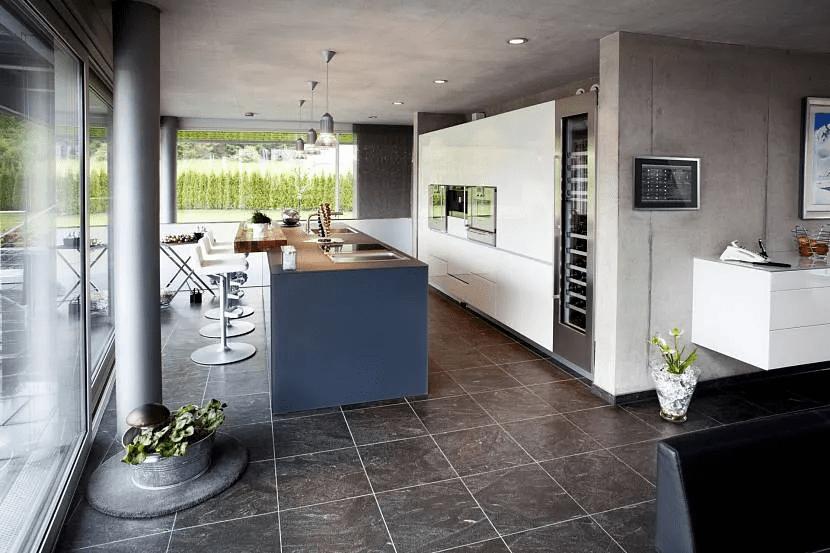 Дом хай-тек - технические и стилистические особенности 027