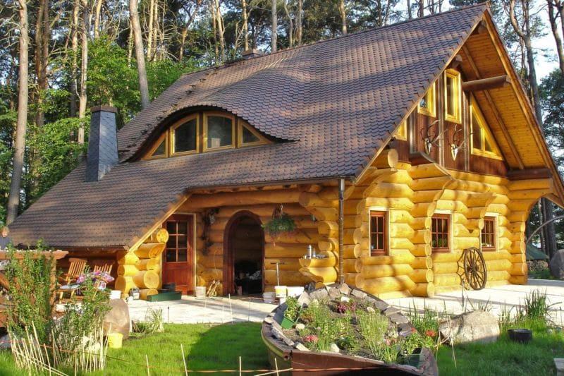 Фото красивых домов и коттеджей в России 009