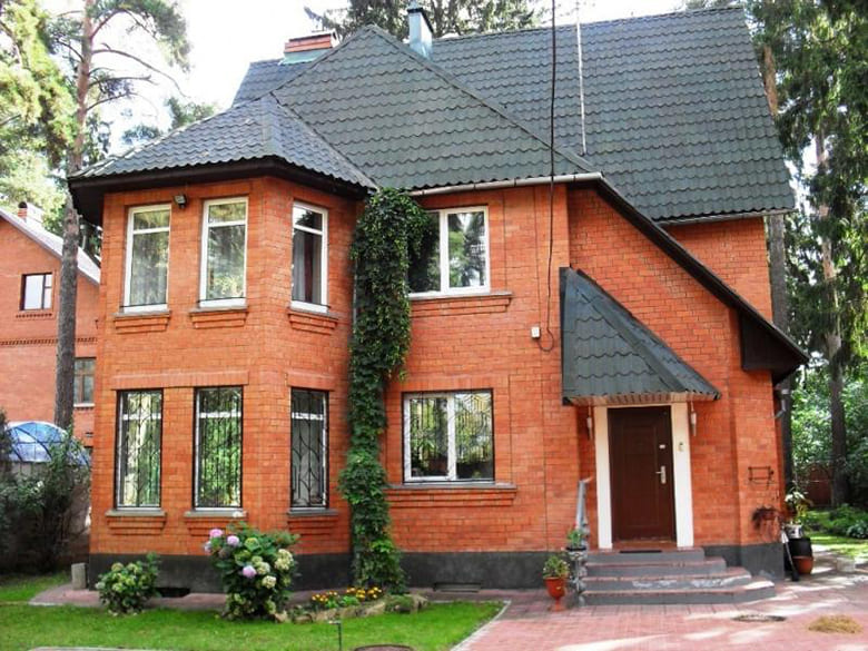 Фото красивых домов и коттеджей в России 021
