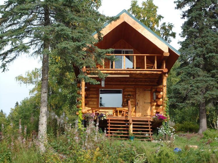 Фото красивых домов и коттеджей в России 026
