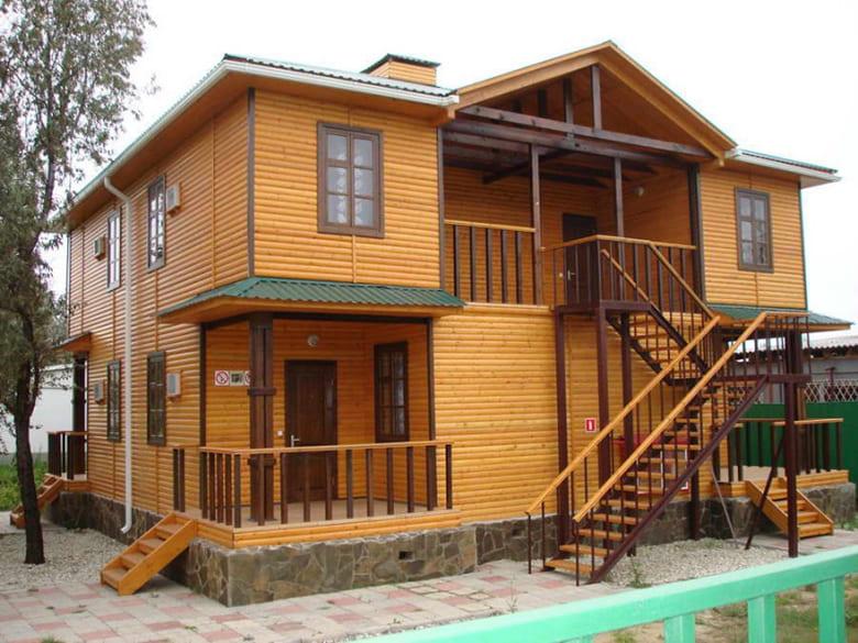 Фото красивых домов и коттеджей в России 028