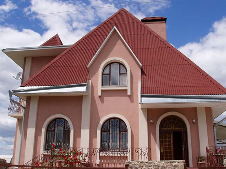 Фото красивых домов и коттеджей в России 035