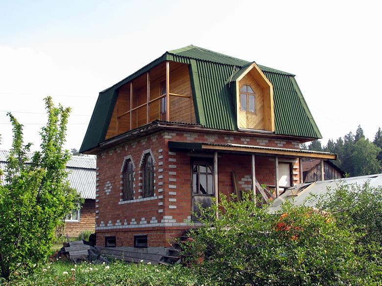 Фото красивых домов и коттеджей в России 037