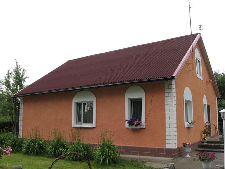 Фото красивых домов и коттеджей в России 039