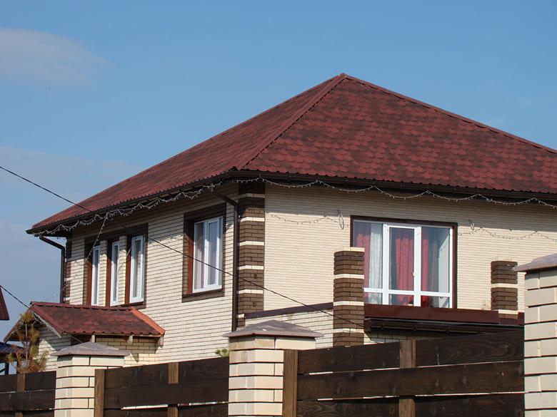 Фото красивых домов и коттеджей в России 043