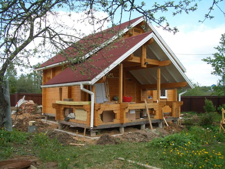 Фото красивых домов и коттеджей в России 046
