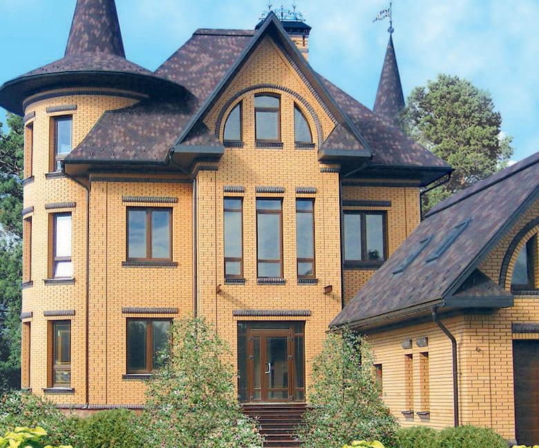 Фото красивых домов и коттеджей в России 053