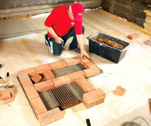 Как сделать камин своими руками - пошаговая инструкция 30