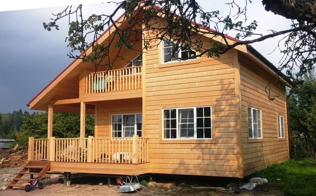 Каркасные дома - виды, плюсы и минусы каркасных домов 18