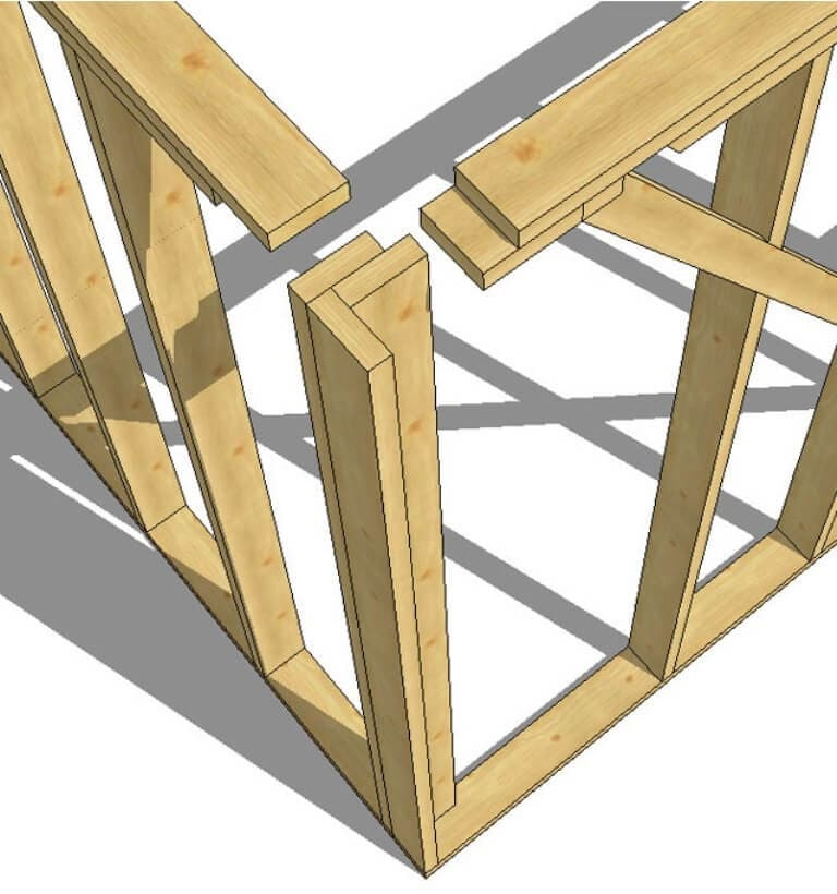 Каркасный дом своими руками - пошаговая инструкция 019