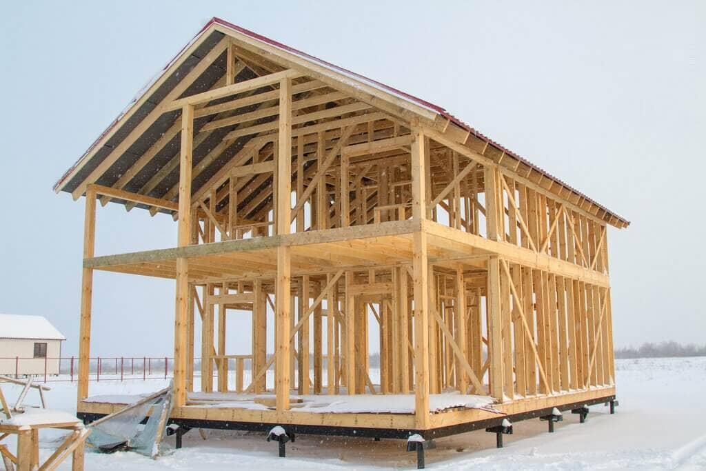 Каркасный дом своими руками - пошаговая инструкция 027